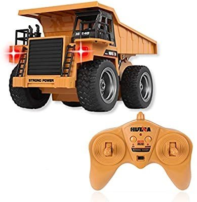 WolVol 6 Channel Electric Remote Control Full Functional Dump Truck review
