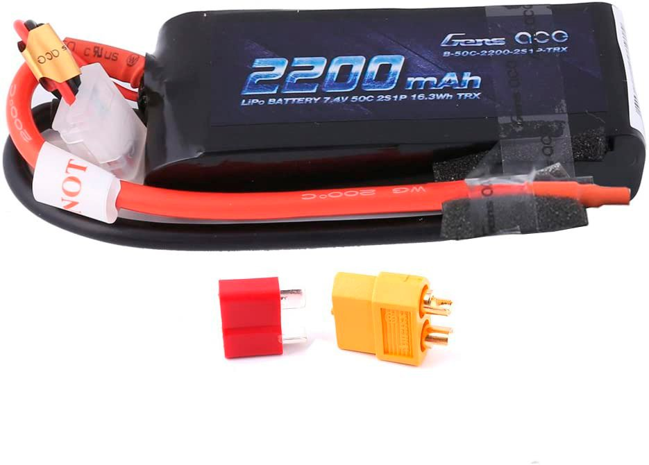 Gens Ace 7.4v 2S 2200 mAh LiPo pack review