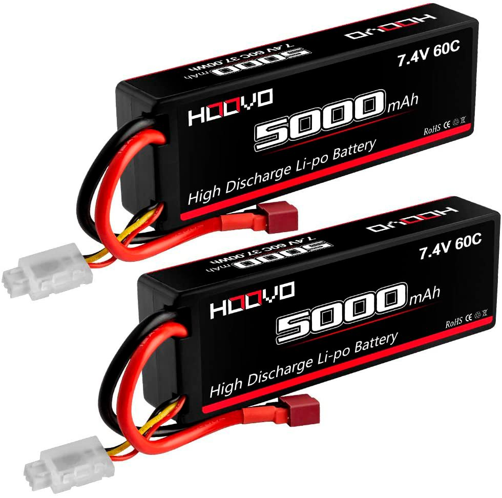 HOOVO 7.4v 2S 5000 mAh LiPo battery review