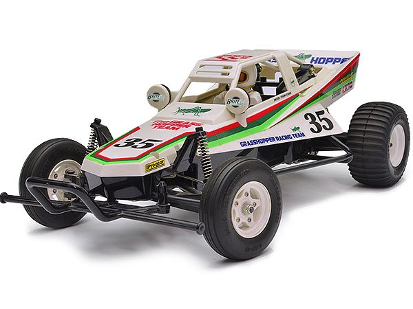 Tamiya 58346 The Grasshopper RC Car review