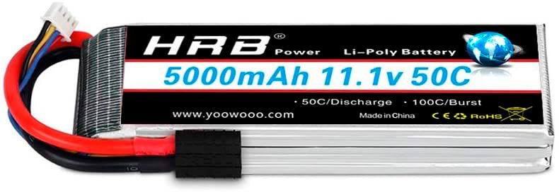 HRB 11.1v 3S 5000 mAh LiPo battery review