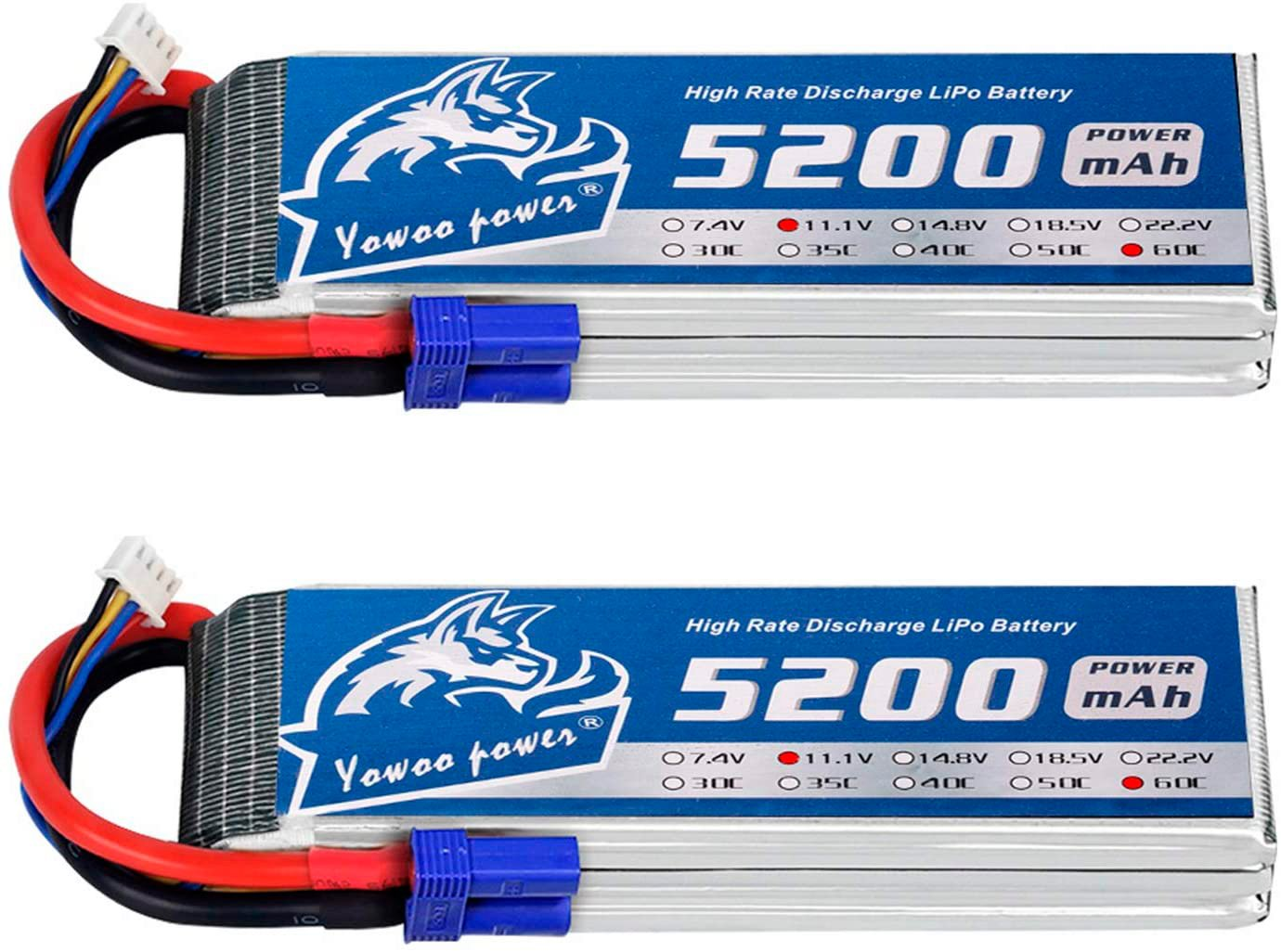 YOWOO 3S 2200 mAh LiPo Battery review