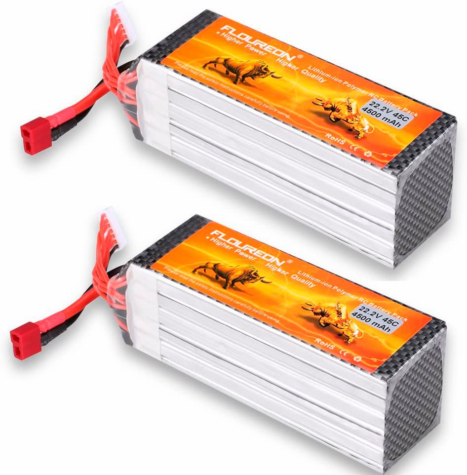 FLUOREON 6S 22.2v 4500 mAh LiPo Battery review