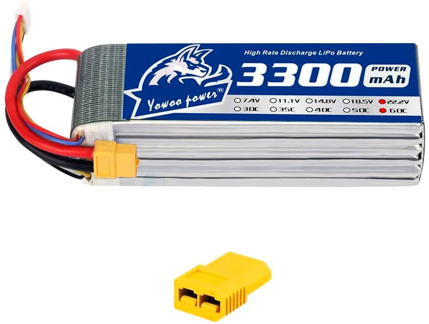 YOWOO 6S 3300 mAh LiPo Battery review
