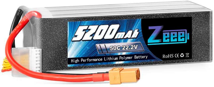 Zeee 22.2v 5200 mAh 6S LiPo Battery review