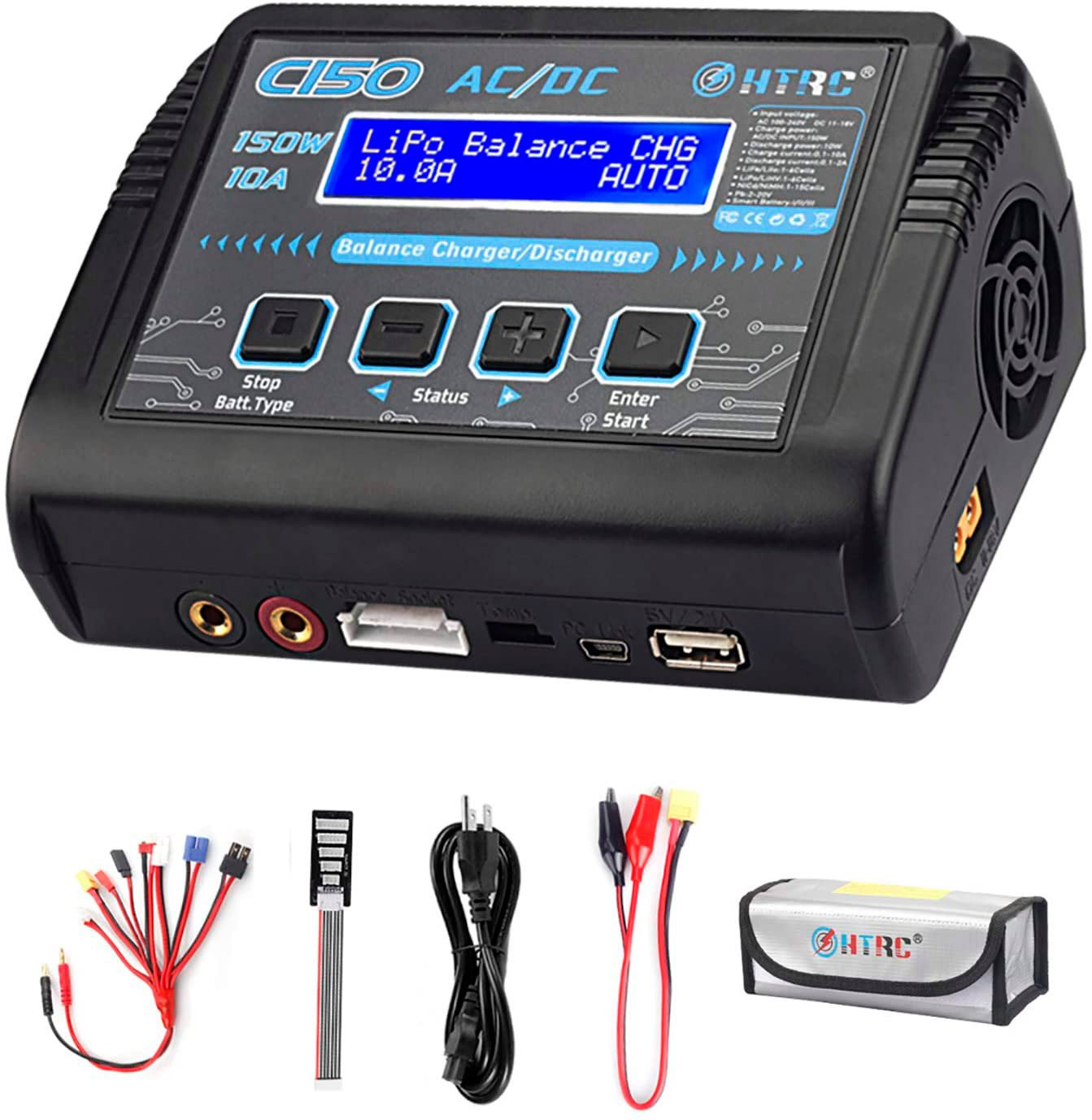 HTRC C150 LiPo Battery Charger review