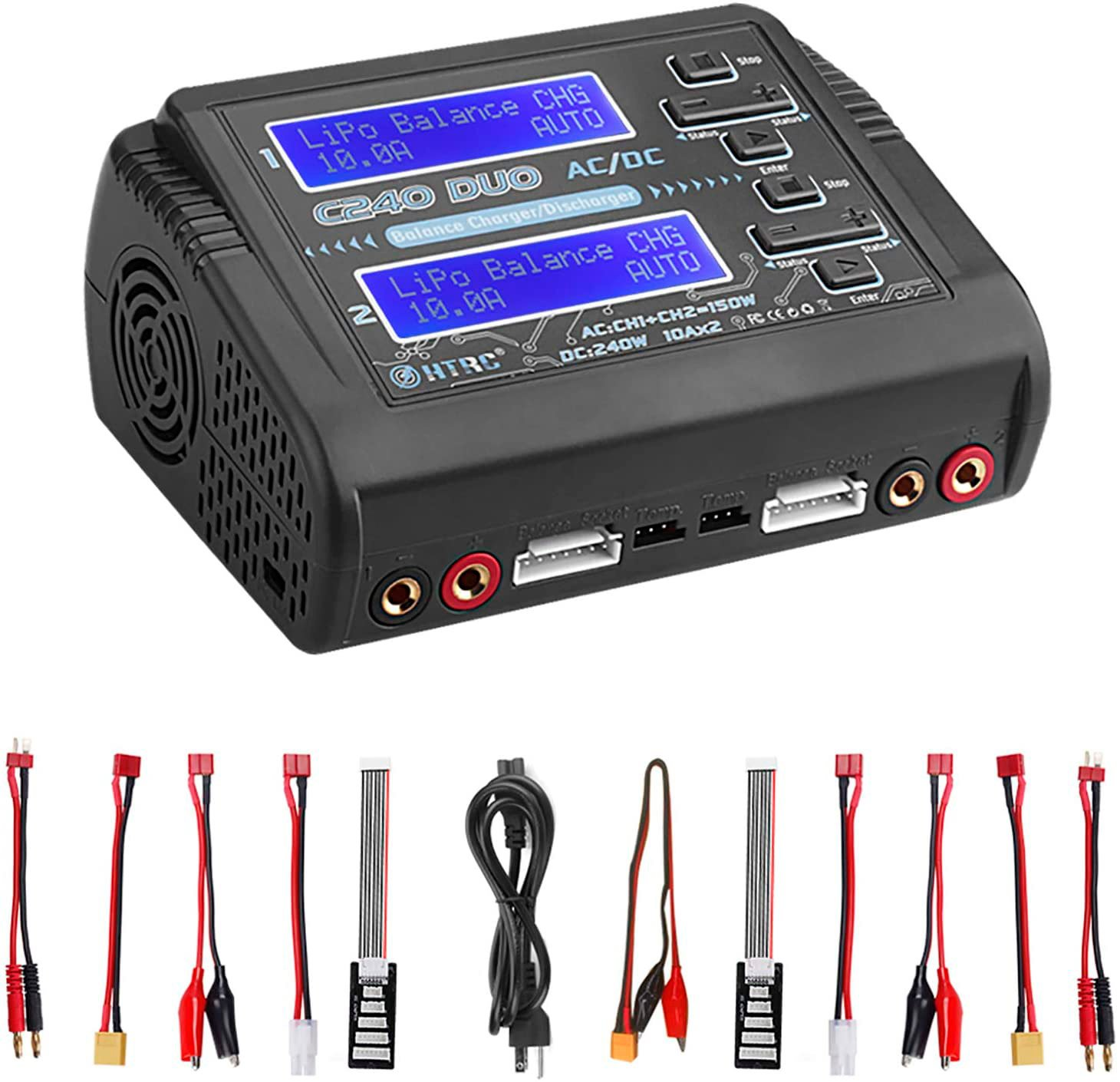 HTRC C240 LiPo Battery Charger review